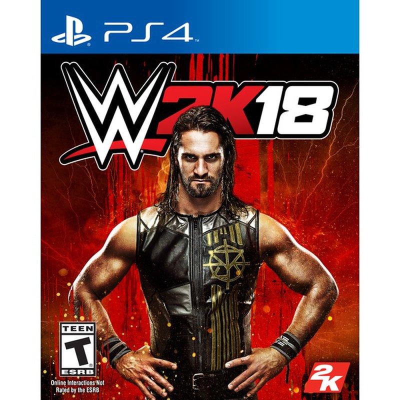 2k Games WWE 2k18 for Playstation 4