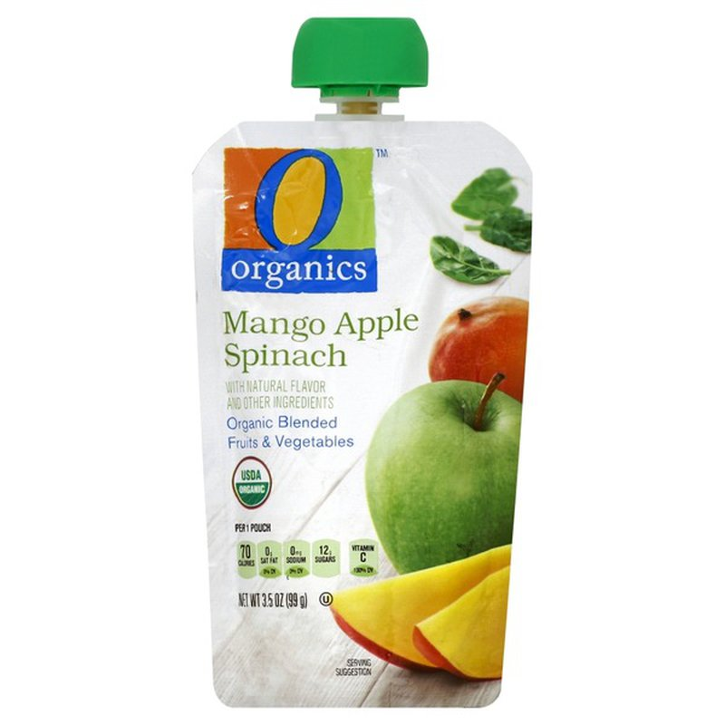 O Organics Organic Fruit & Vegetable Puree Blend