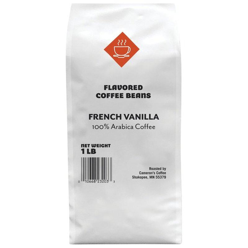 Cameron's Coffee French Vanilla Flavored 100% Arabica Coffee Beans