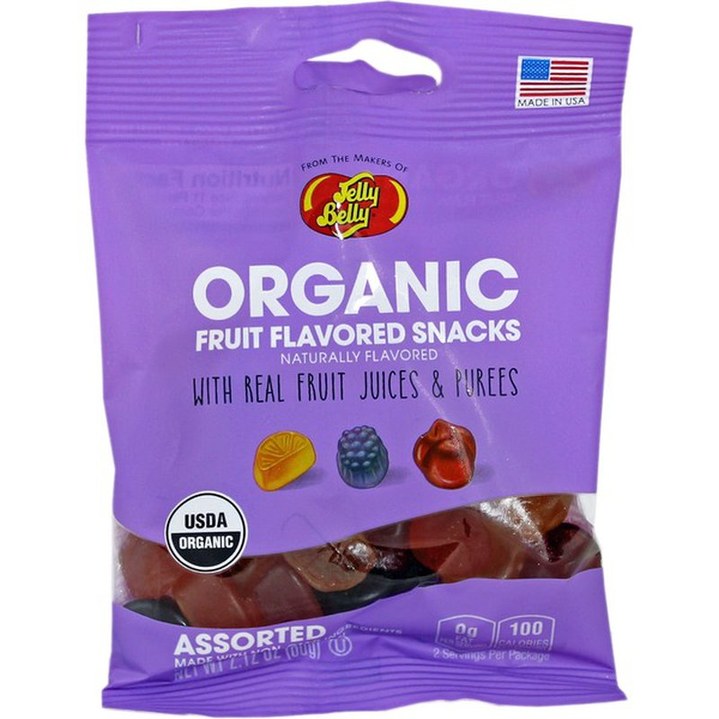Jelly Belly Fruit Flavored Snacks