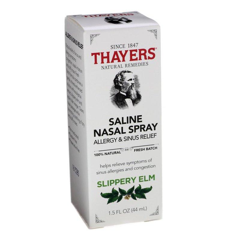 Thayers Saline Nasal Spray