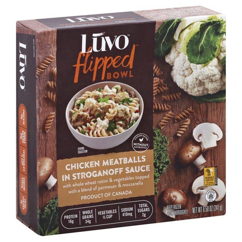 Luvo Performance Kitchen™ Stroganoff Pasta with Chicken Meatballs