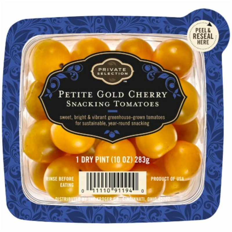 Private Selection Petite Gold Cherry Snacking Tomatoes
