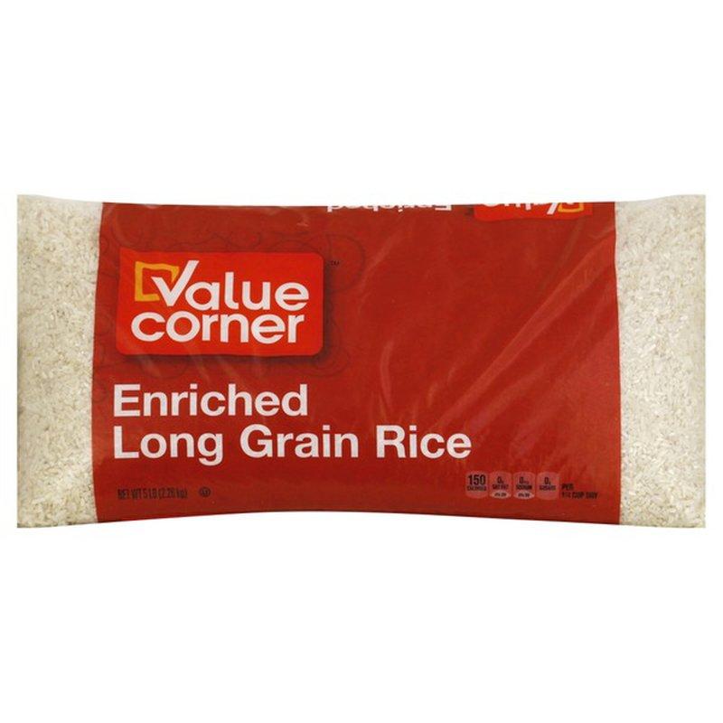 Value Corner Long Grain Rice