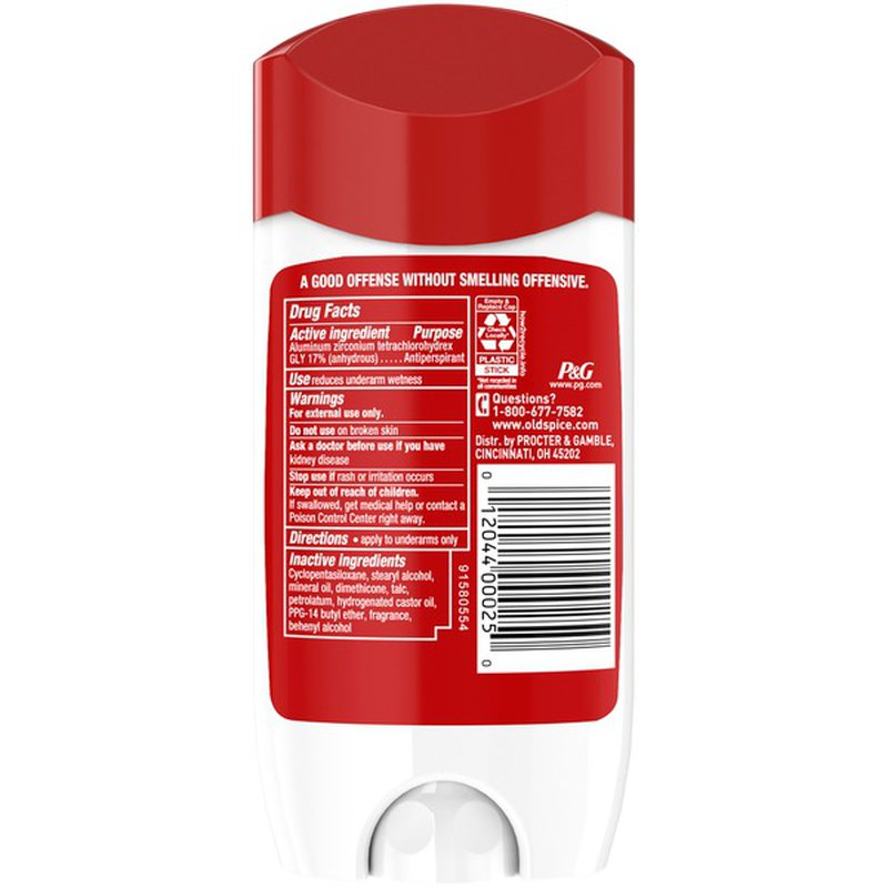 Old Spice Anti-Perspirant Deodorant for Men, 48 Hour Protection