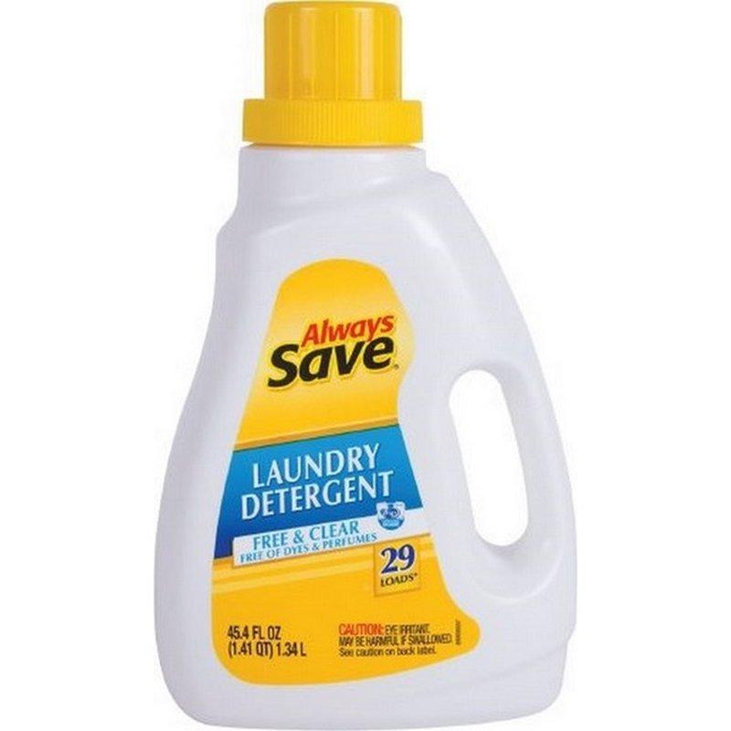 Always Save 2x Free & Clear Liquid Laundry Detergent