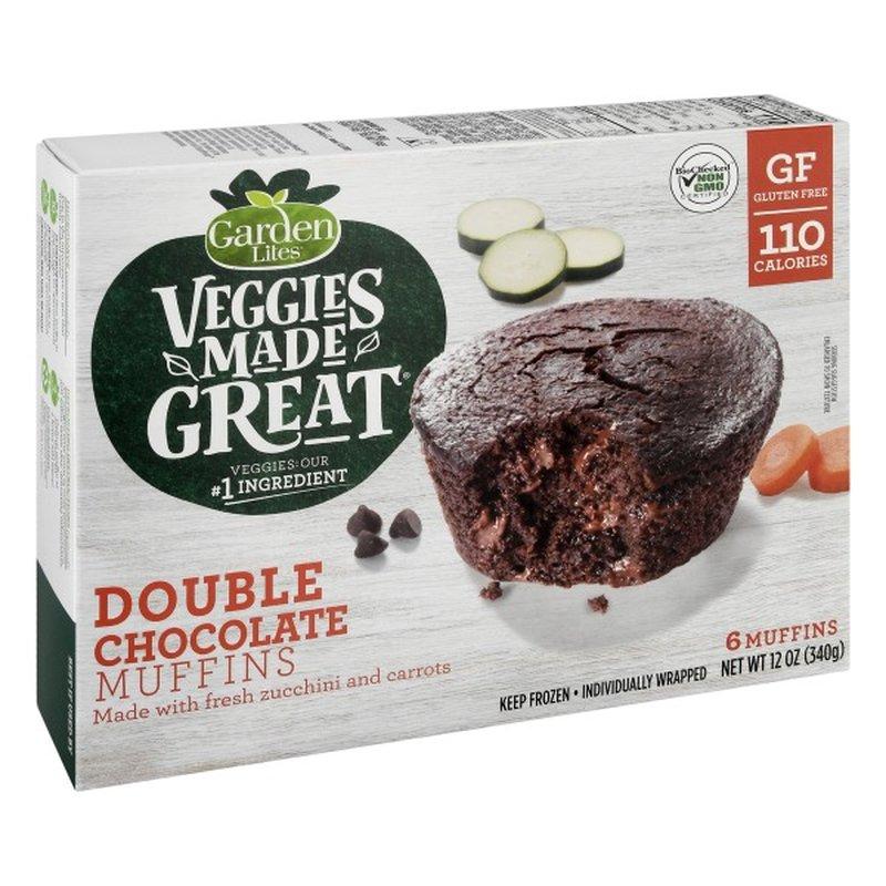Garden Lites Veggies Made Great Muffins Double Chocolate