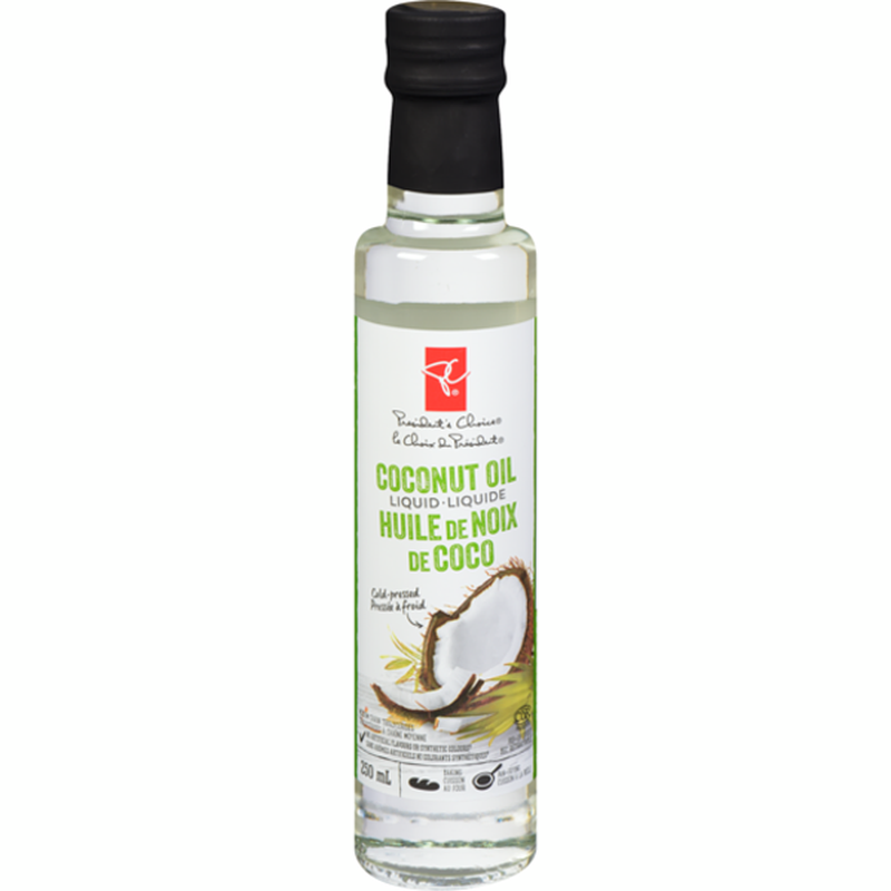 Cold Pressed Liquid Coconut Oil