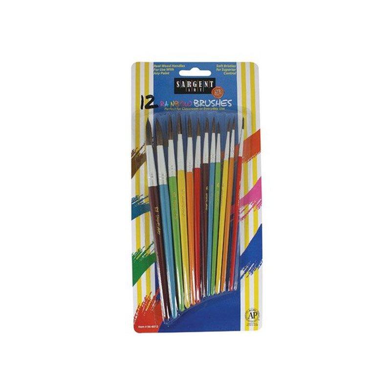 Sargent Art Rainbow Paint Brush Set