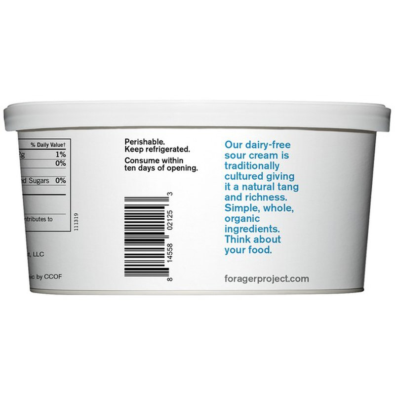 Forager Project Organic Dairy-Free Sour Cream