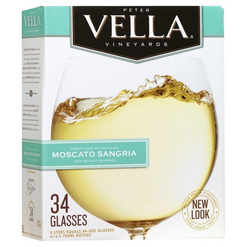 Peter Vella Moscato Sangria White Box Wine 5 L Instacart,Common Birds Of Long Island Ny
