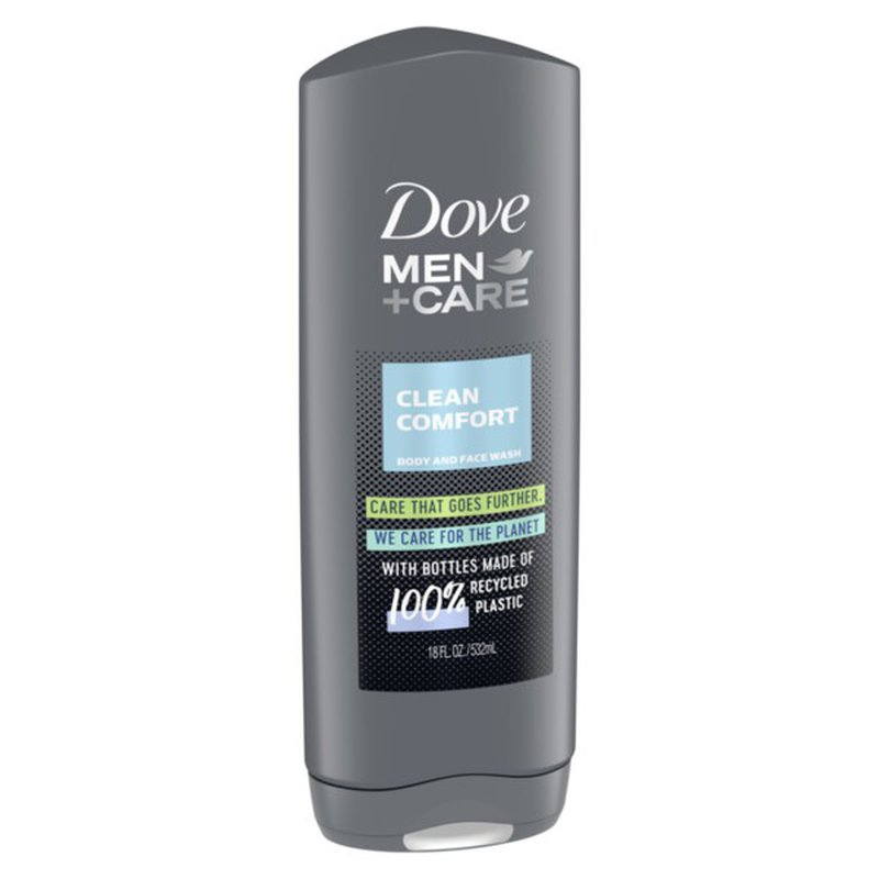 Dove Men Care Body Wash And Face Wash Clean Comfort 13 5 Oz Instacart