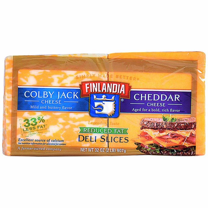 Finlandia Reduced Fat Deli Cheese Slices