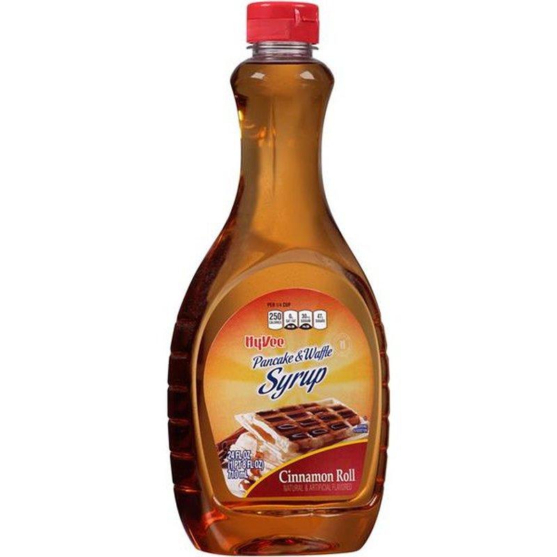 Hy-Vee Cinnamon Roll Pancake & Waffle Syrup