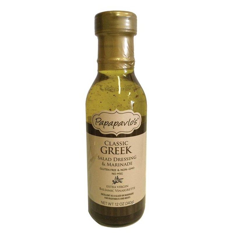Papapavlo's Classic Greek Salad Dressing & Marinade