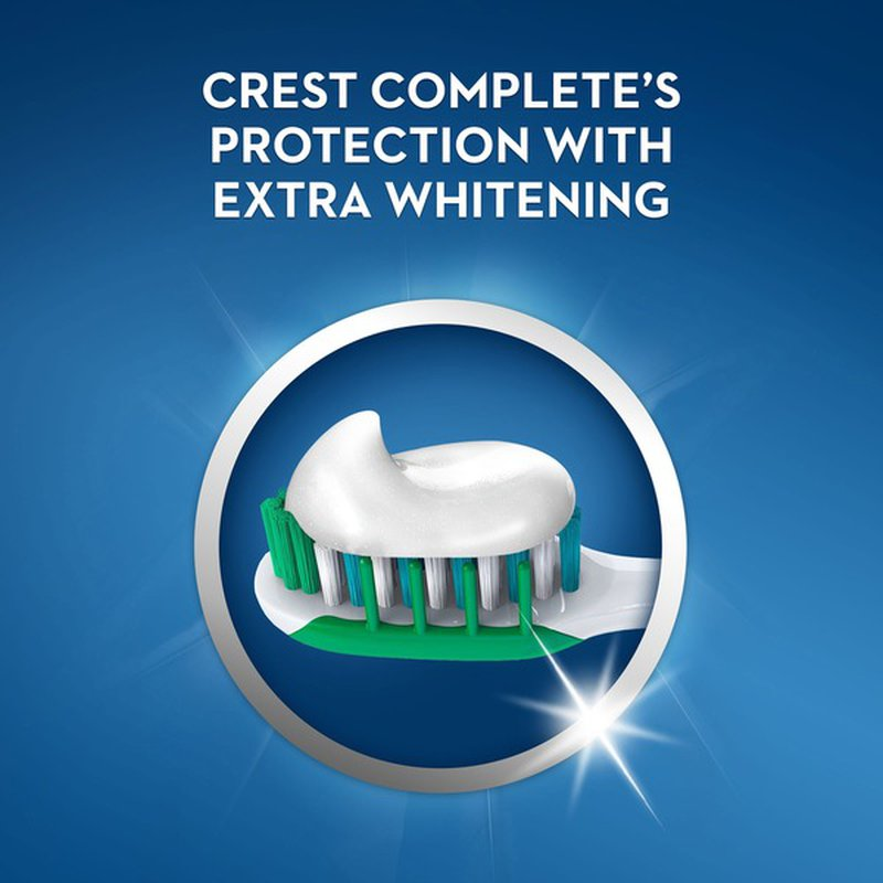 Crest Extra Whitening Complete Toothpaste, Clean Mint