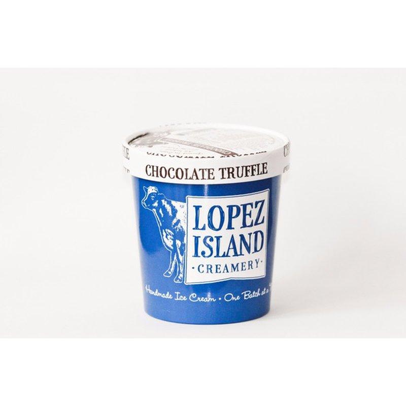 Lopez Island Creamery Chocolate Truffle Ice Cream