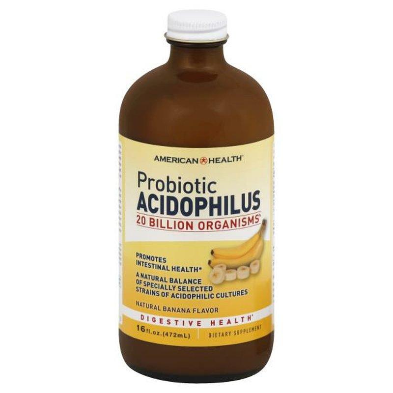 American Health Probiotic Acidophilus Digestive Health Dietary Supplement