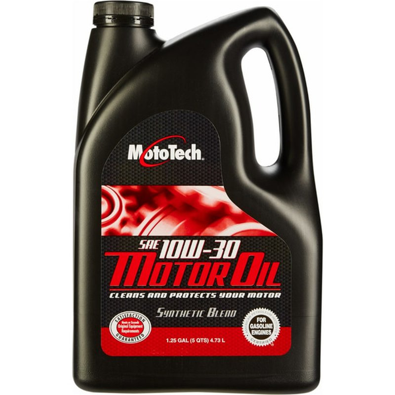 Moto Tech SAE 10 W 30 Motor Oil