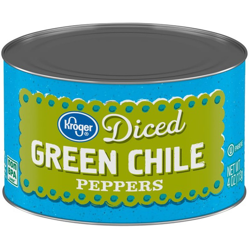 Kroger Diced Green Chile Peppers