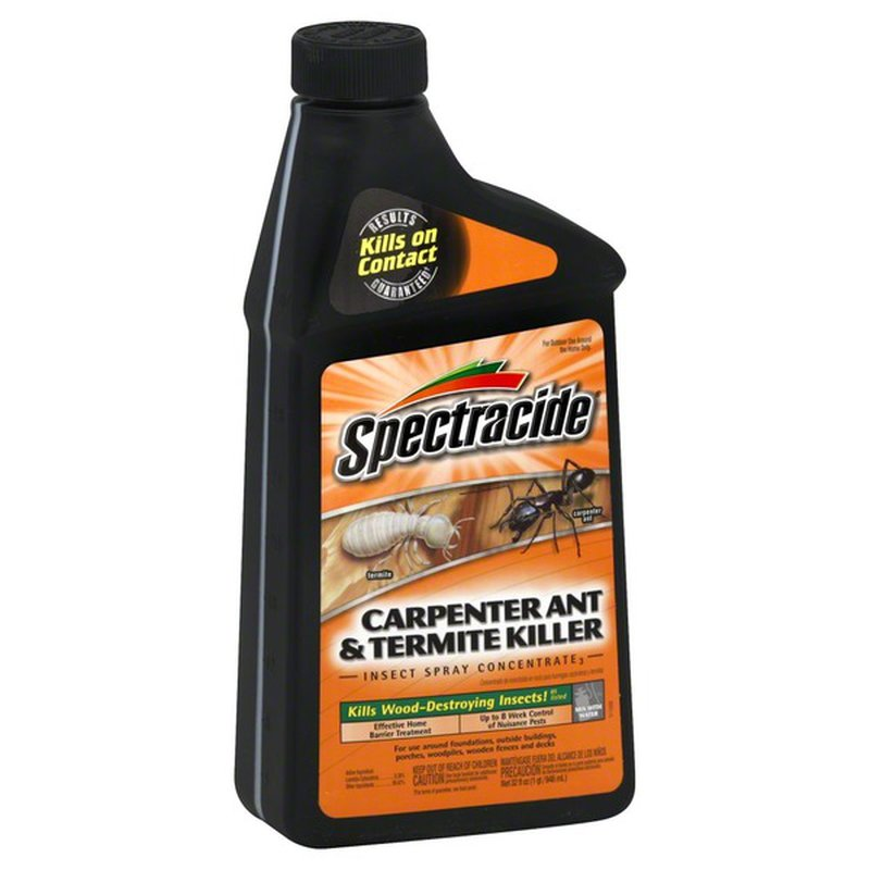 Spectracide Insect Spray Carpenter Ant Termite Killer Concentrate3 32 Oz Instacart
