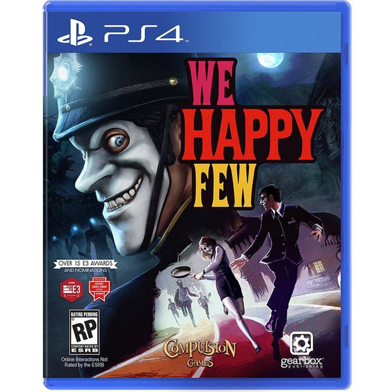 Gearbox We Happy Few Standard Edition for PlayStation 4