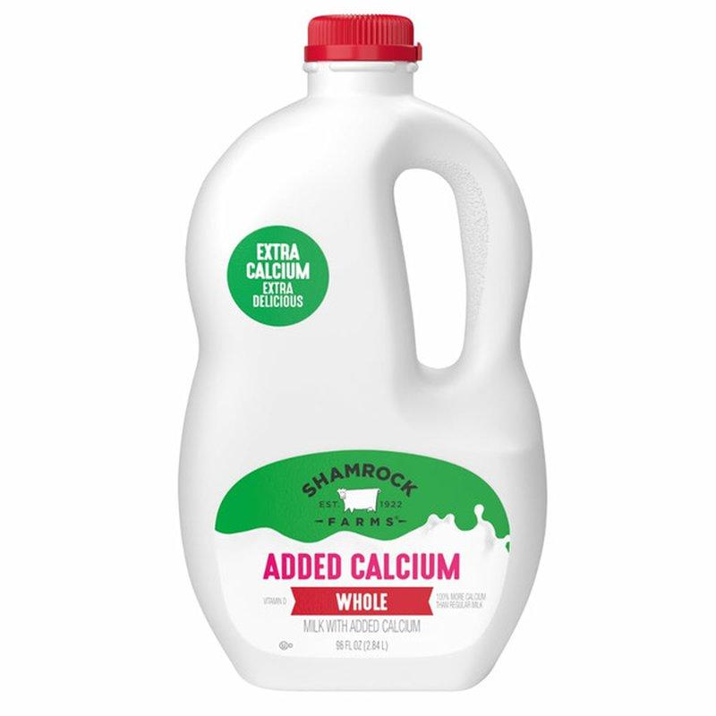 Shamrock Foods Whole Milk With Calcium Plus Vitamin D