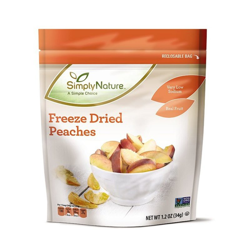 Simply Nature Freeze Dried Peach