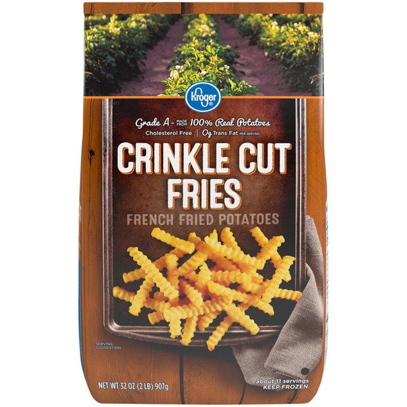Kroger Crinkle Cut Fries