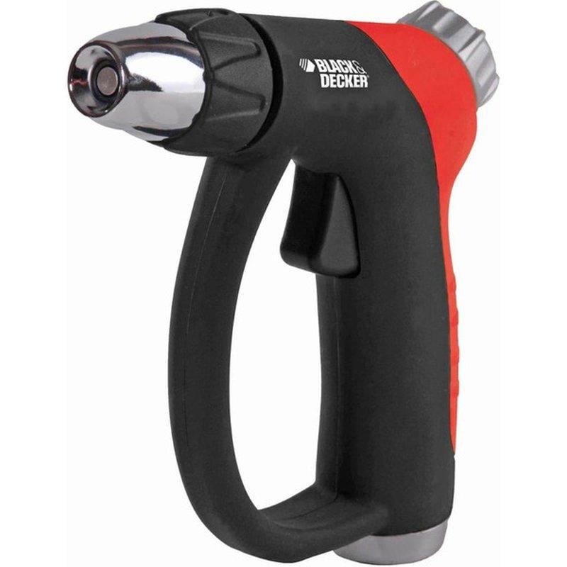 Black & Decker Black & Orange Heavy Duty Deluxe Adjustable Trigger Hose Nozzle