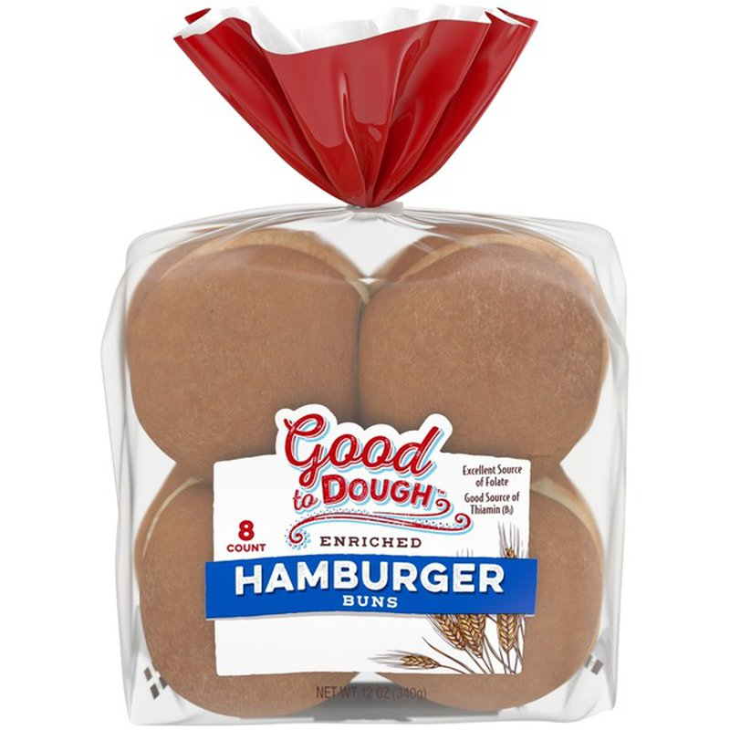 Good To Dough Enriched Hamburger Buns