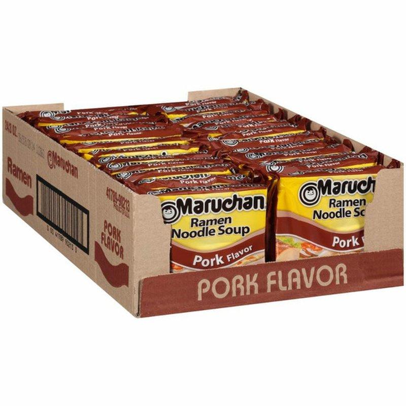 Maruchan Pork Flavor Ramen Noodle Soup