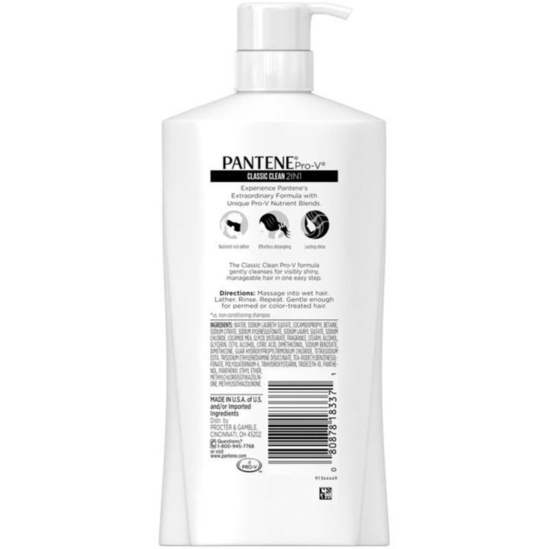 Pantene Pro-V Classic Clean 2In1 Shampoo & Conditioner