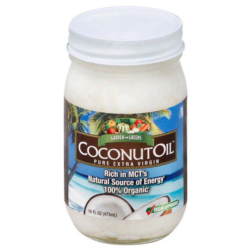 Garden Greens Coconut Oil