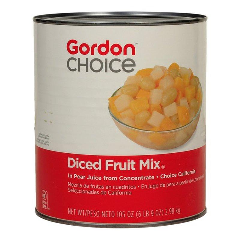 Gordon Choice Diced Fruit Mix in Juice