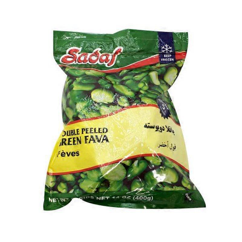 Sadaf Double Peeled Green Fava