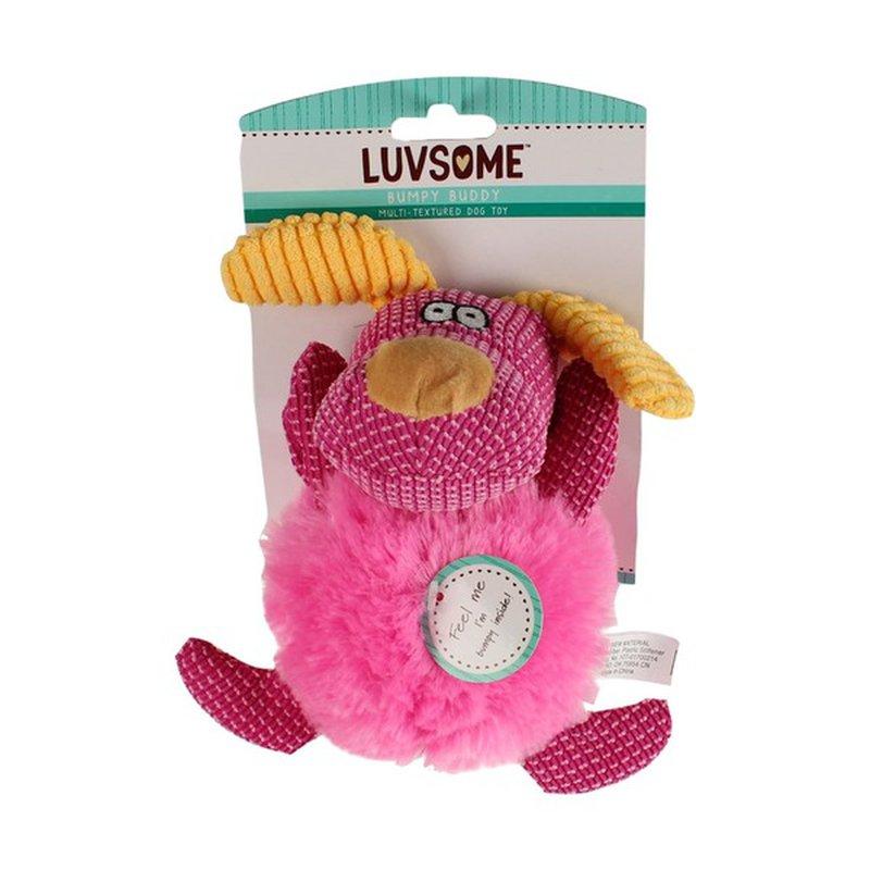 Luvsome Bumpy Buddy Dog Toy