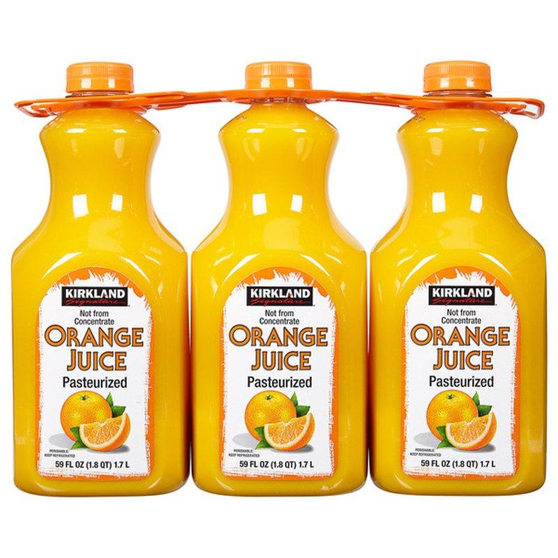 Kirkland Signature Orange Juice