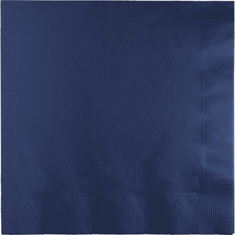 Touch of Color Bev Napkin Navy 50ct