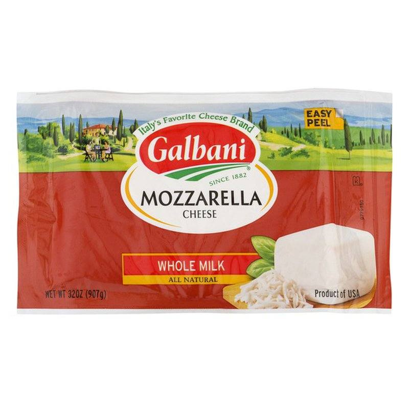Galbani Dairy Galbani Whole Milk Mozzarella Cheese (32 oz ...