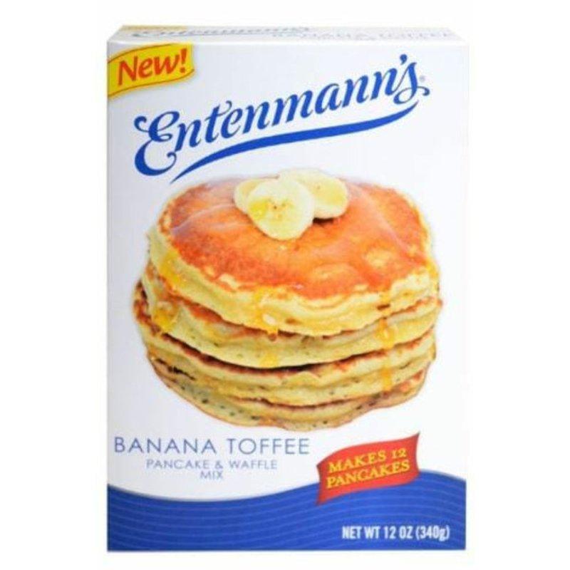 Entenmann's Banana Toffee Pancake & Waffle Mix