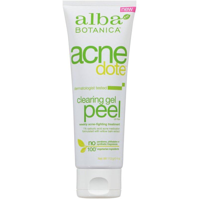 Alba Botanica Clearing Gel Peel Weekly Acne Fighting Treatment 4