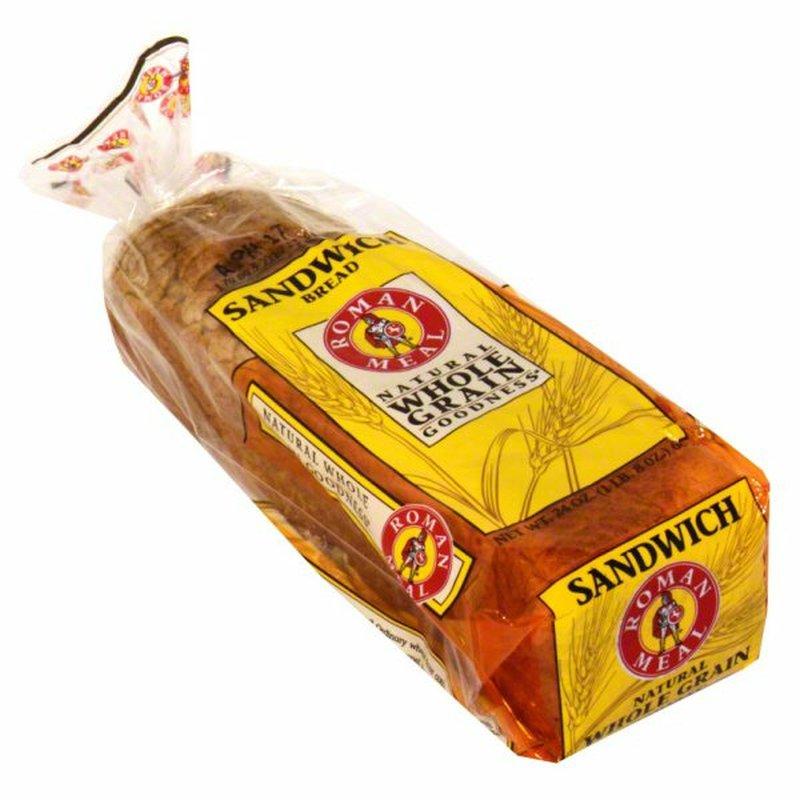 Roman Meal Natural Whole Grain Goodness Sandwich Bread