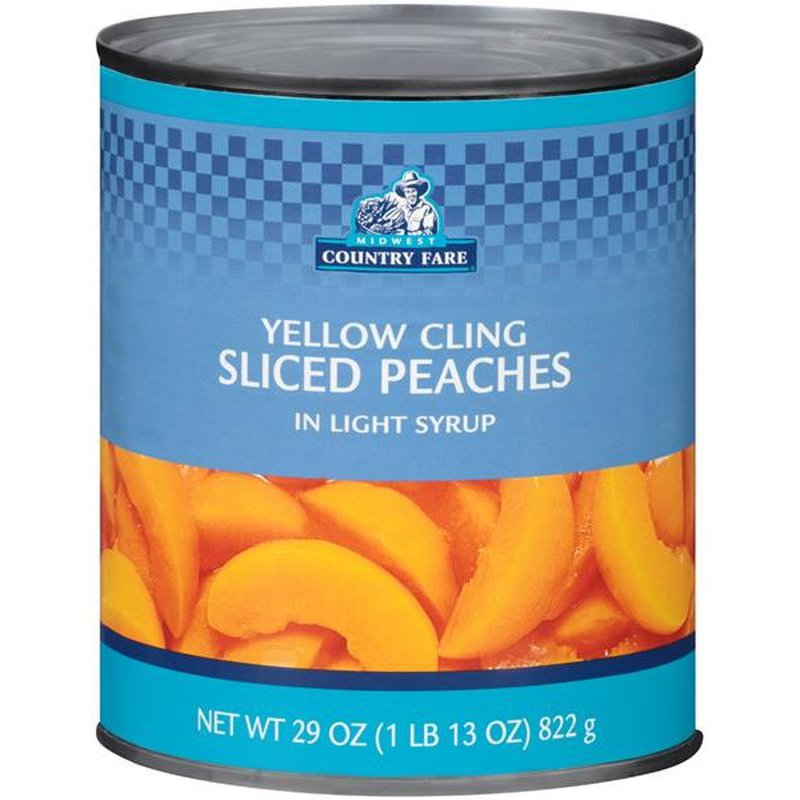 Midwest Country Fare Peaches, Sliced, Yellow Cling