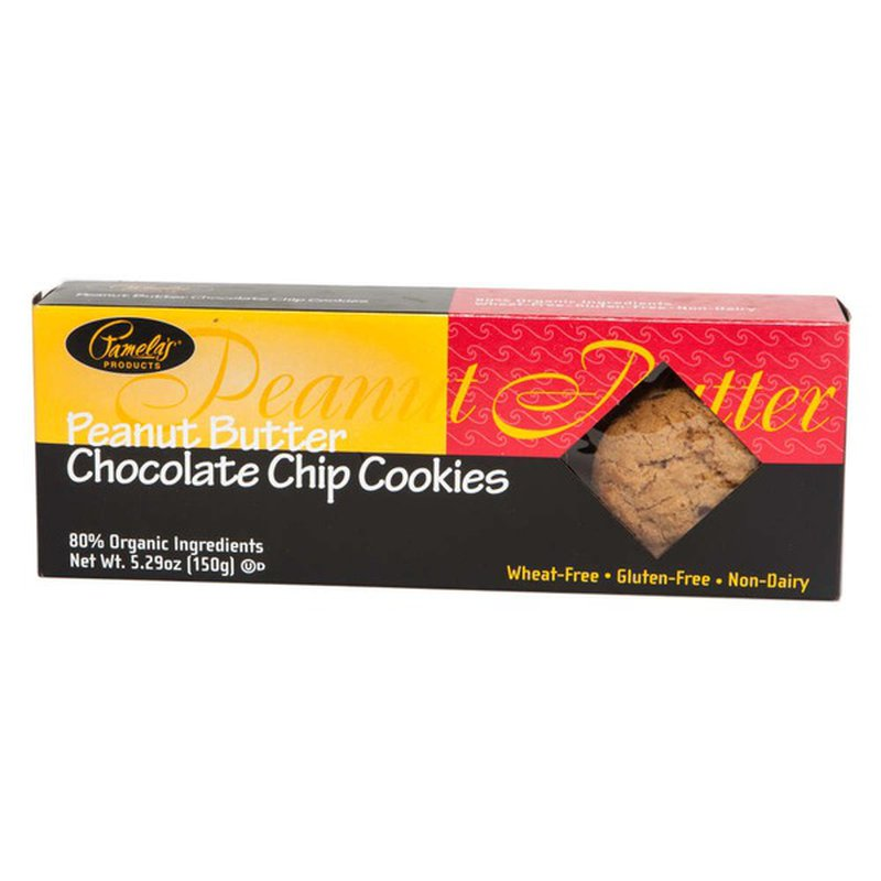 Pamela's Products Peanut Butter Chocolate Chip Cookies