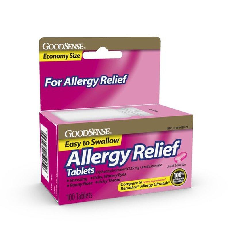 GoodSense 10mg Allergy Relief Loratadine Tablets