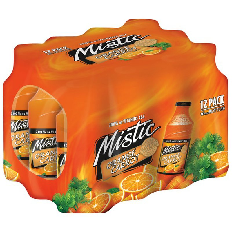 Mistic Orange Carrot Juice Drink (16 fl oz) from Shoppers