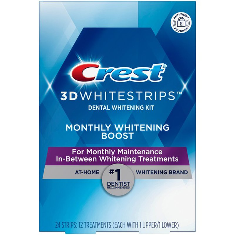 Crest 3d Teeth Whitening Kit 24 Ct Instacart