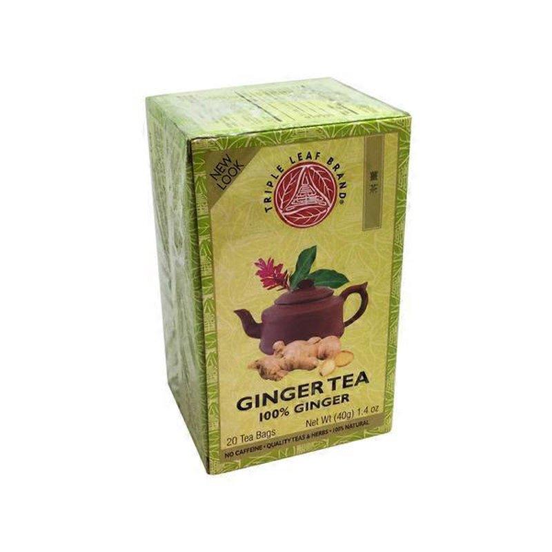 Triple Leaf Ginger Herbal Tea