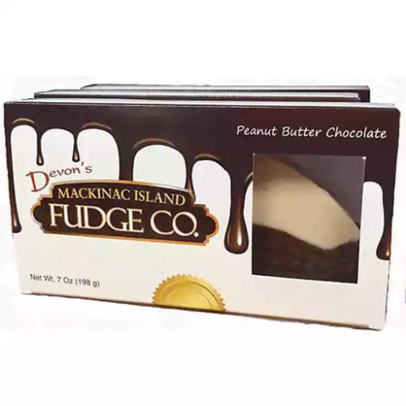 Devon's McKinac Island Fudge Peanut Butter Chocolate Fudge